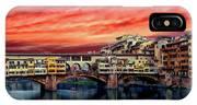 Ponte Vecchio Bridge IPhone Case