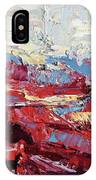 Poppy Fields IPhone Case