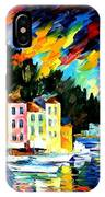 Portofino Harbor - Italy IPhone Case