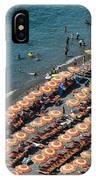 Positano Beach IPhone Case