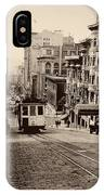 Powell Street Hill - San Francisco 1945 IPhone Case