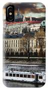 Prague By The Water IPhone Case