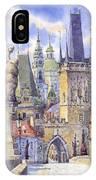 Prague Charles Bridge IPhone Case