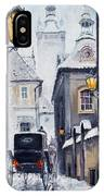Prague Old Street 02 IPhone Case