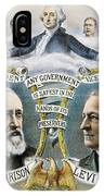 Presidential Campaign, 1888 IPhone Case