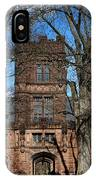 Princeton University East Pyne Hall Tower IPhone Case