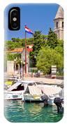 Prvic Luka Island Village Waterfront View IPhone Case