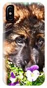 Puppy Oskar IPhone Case