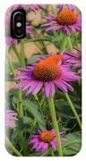 Purple Blooms IPhone Case