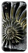 Pyritized Ammonite IPhone Case