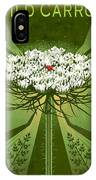 Queen Anne's Lace Print IPhone Case