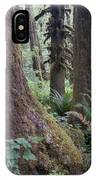 Quinault Rain Forest 3152 IPhone Case
