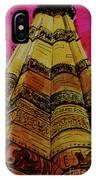 Qutab Minar Of India, Monument Of India IPhone Case