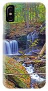 R B Ricketts Falls In Autumn IPhone Case