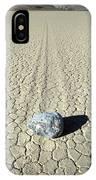 Racetrack In Death Valley IPhone Case