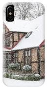 Ramlosa Brunnspark House In Winter IPhone Case