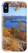 Rattlesnake Cliffs Squam Lake IPhone Case