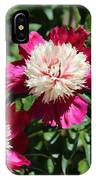 Red And Pink Peony IPhone Case