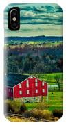 Red Barn - Pennsylvania IPhone Case