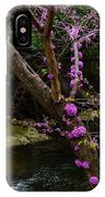 Redbud And River IPhone Case