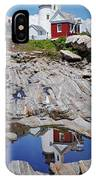 Reflections Of Pemaquid IPhone Case