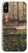Regrowth After A Controlled Burn IPhone Case