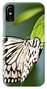 Rice Paper Butterfly 5 IPhone Case