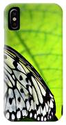 Rice Paper Butterfly 6 IPhone Case