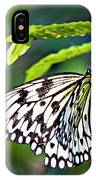 Rice Paper Butterfly 7 IPhone Case