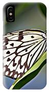 Rice Paper Butterfly 8 IPhone Case