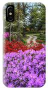 Road With Flowers IPhone Case