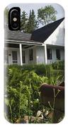 Robert Frost Homestead - Franconia New Hampshire Usa IPhone Case
