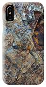 Rock Geometry IPhone Case by Julian Perry