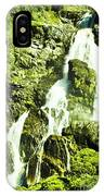 Rocky Mountain Waterfall IPhone Case