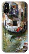 Romance In Venice IPhone Case