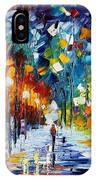Romantic Winter IPhone Case