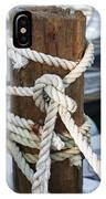 Rope Fence Fragment IPhone Case