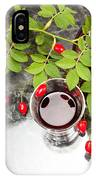 Rosehip Tea With Lemon In Glass IPhone Case