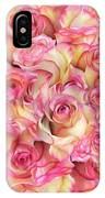 Roses Background IPhone Case