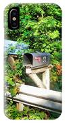 Rural Mailboxes  IPhone Case