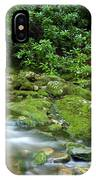 Rushing Mountain Stream IPhone Case