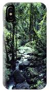 Rushing Stream El Yunque National Forest IPhone Case