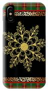Rustic Snowflake-jp3695 IPhone Case