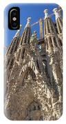 Sagrada Familia In Barcelona IPhone Case