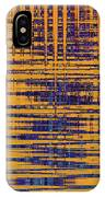 Saguaro Cactus Abstract IPhone Case