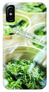 Salad Bar Buffet Fresh Mixed Lettuce Display IPhone Case