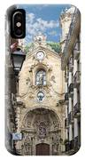 Basilica Of Saint Mary Of The Chorus - San Sebastian - Spain IPhone Case