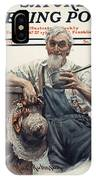 Saturday Evening Post IPhone Case
