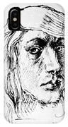 Self Portrait 1493  IPhone Case