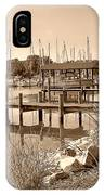 Sepia Waterscape IPhone Case